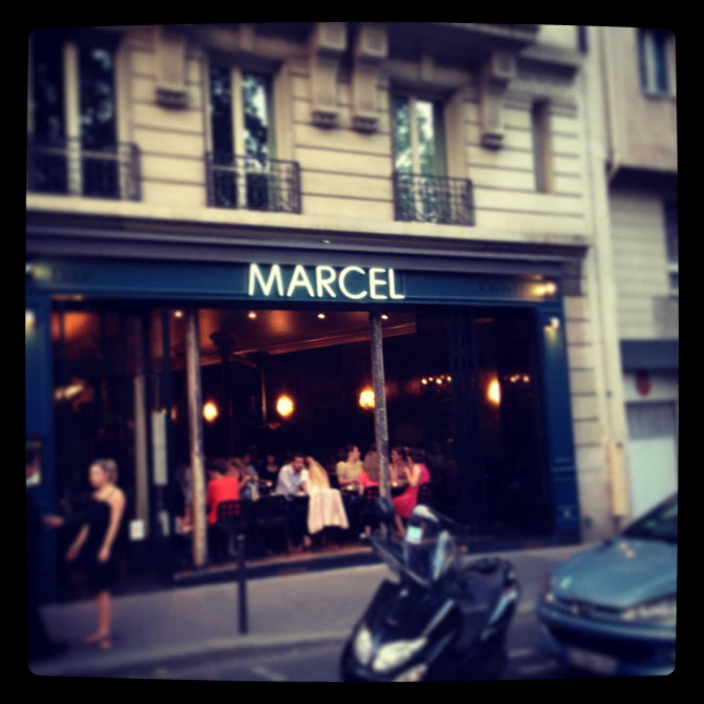 Marcel (Anti Solo Diners)