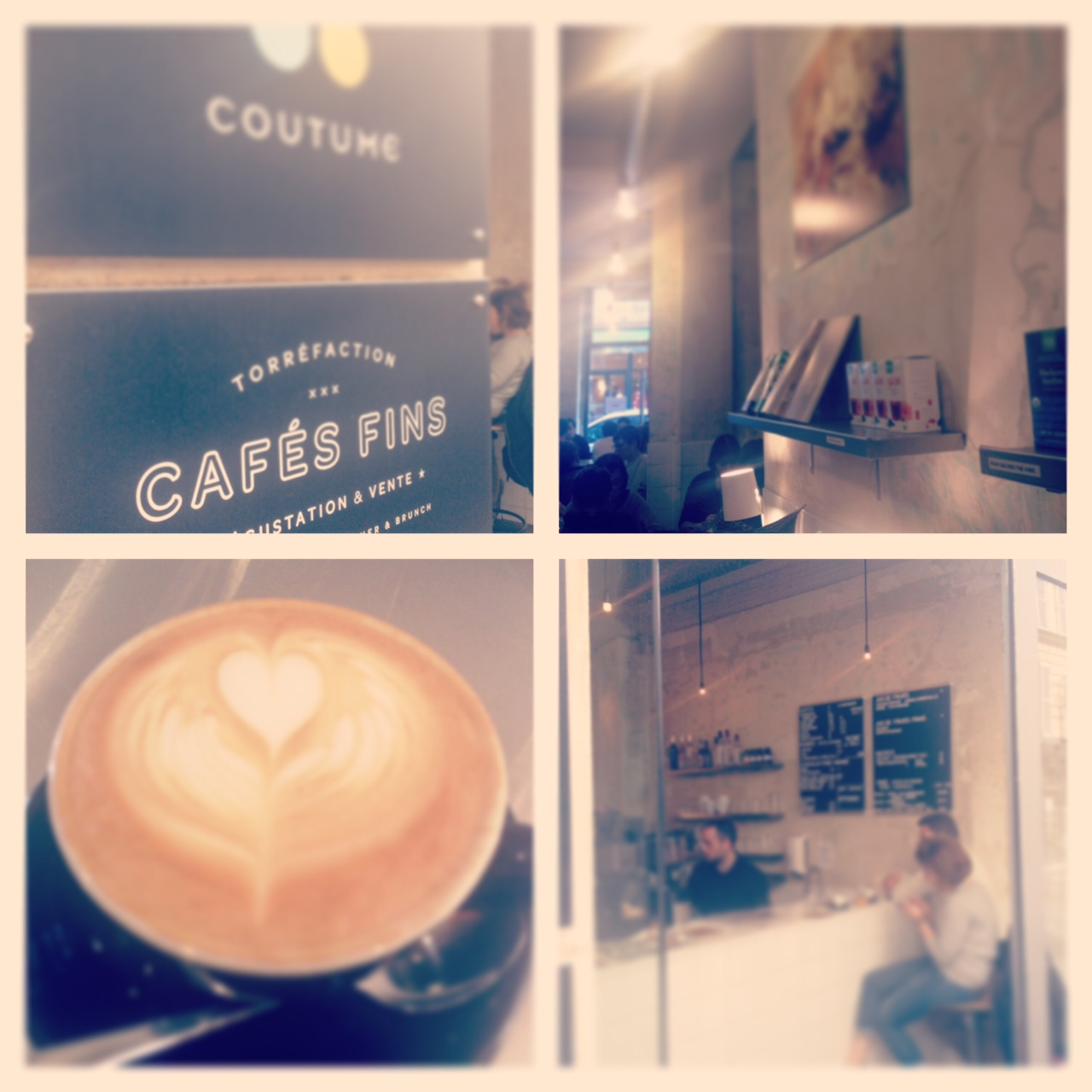 collage coutume cafe