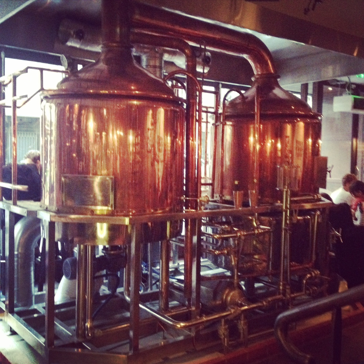 copper stills at FBF