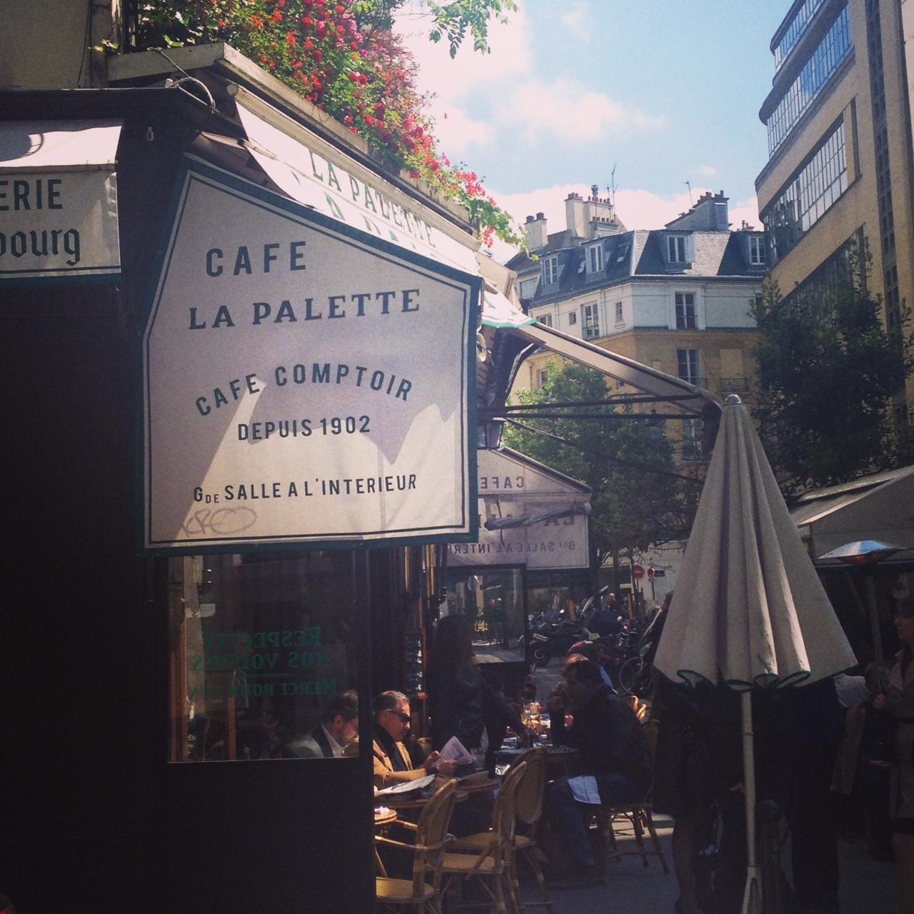 Solo Dining @ La Palette, Paris