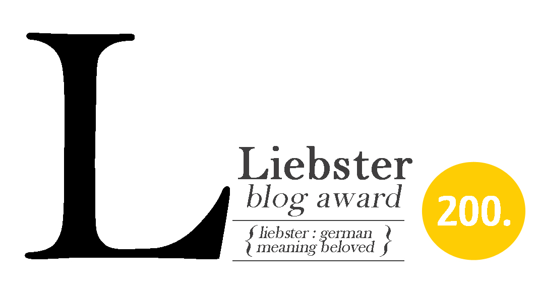 Liebster blog award goes to Liquid Marmalade!!