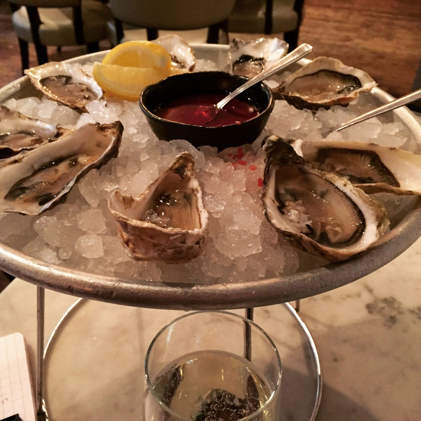 Oyster Happiness @ Wright Brothers, London