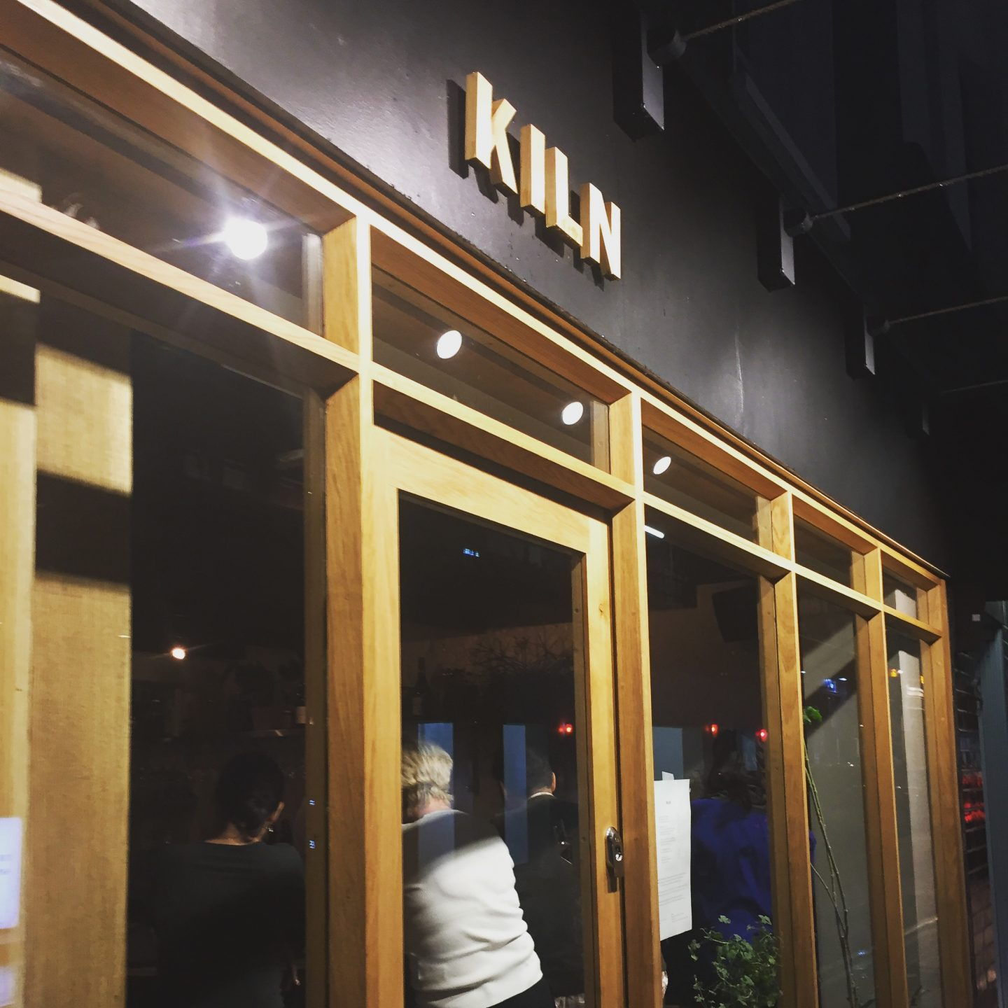 Hot Right Now – solo dining @ KILN, London