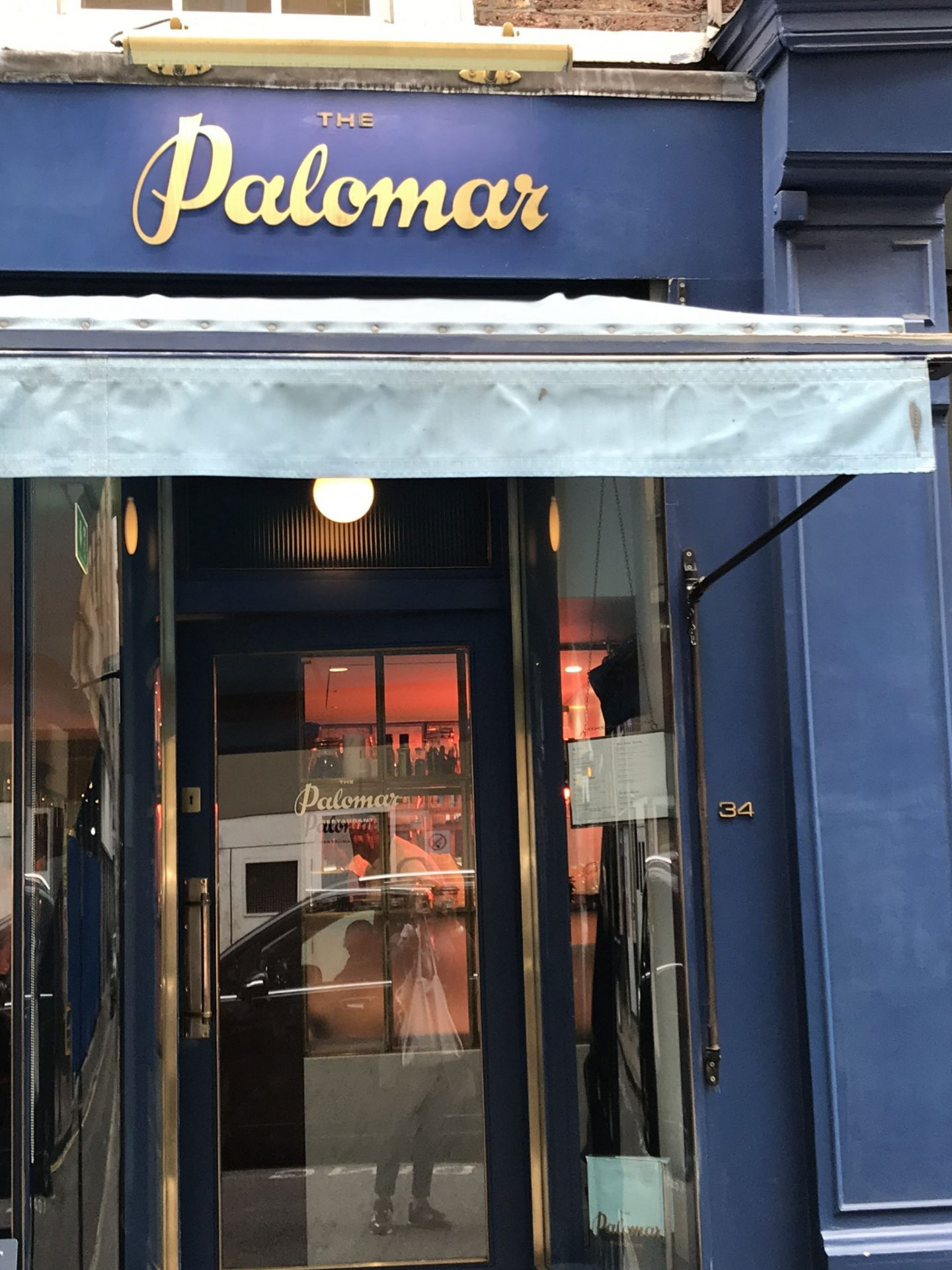 Solo Dining @ The Palomar, London