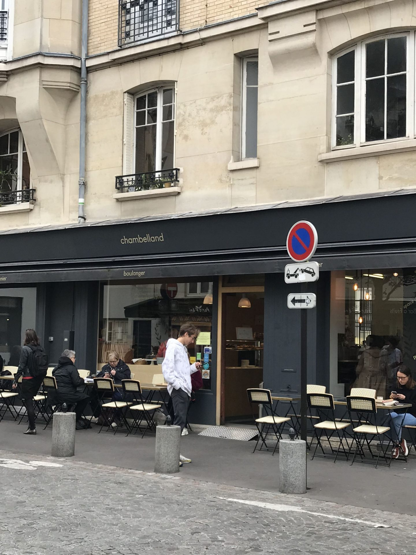 Solo dining at Chambelland, Paris – gluten free pastries, eh oui!